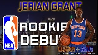 Jerian Grant NBA Rookie Debut: 10 PTS, 5 AST, 3 STL, 1 REB @ Bucks