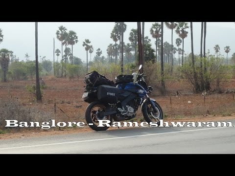 BANGALORE-RAMESHWARAM | 200NS | SOLO SOUTH COAST TOUR | Day 1