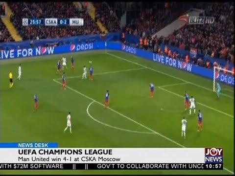 UEFA Champions League - Sports Desk on Joy News (28-9-17)