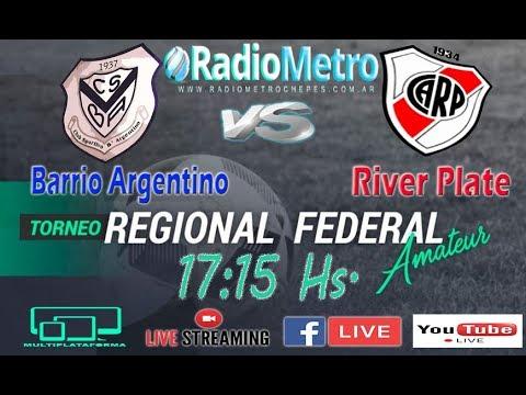 BARRIO ARGENTINO VS. RIVER DE CHEPES - FEDERAL AMATEUR DE FUTBOL
