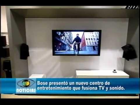 Bose presentó un nuevo centro de entretenimiento que fusiona TV y ...