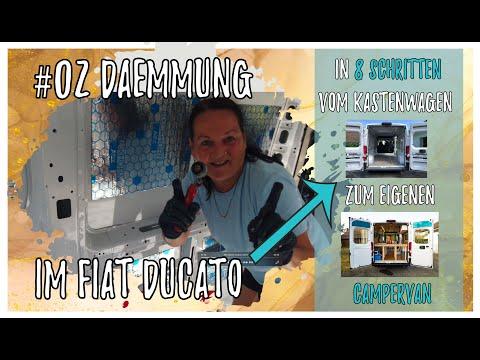Dämmung mit K-FLEX im Fiat Ducato (+ 3 Alternativen) // In 8 Schritten vom Kastenwagen zum DIY Van