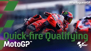 Quick-fire Qualifying | 2021 #PortugueseGP