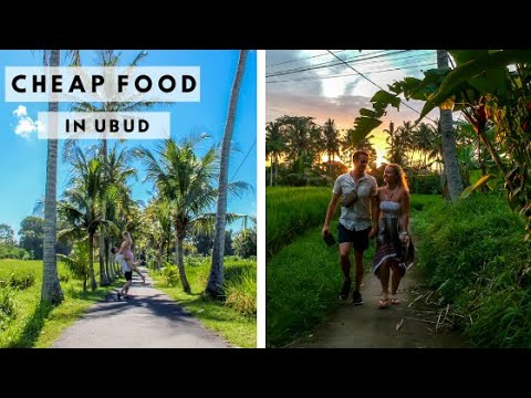 FIRST DAY IN BALI | Finding Ubud's Cheapest Eat