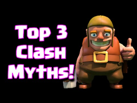 Clash Of Clans Top 3 Myths In The Game | Top 3 Clash Of Clans Game Rumors