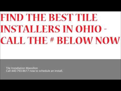 Tile Installation Massillon | Call 440-793-8617 | Ohio Flooring Installation