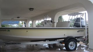 Used 18' Hewes Redfisher Flats Boat For Sale Key Largo