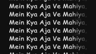 Imran Khan   Aaja We Mahiya With Lyrics