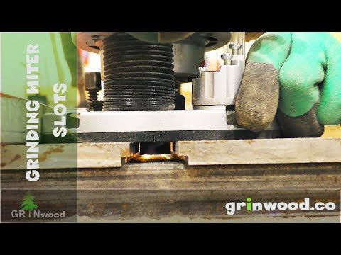 Aligning Miter Slots With Router