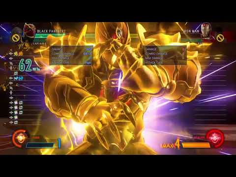 black panther x captain marvel combo 8.6k damage all resources