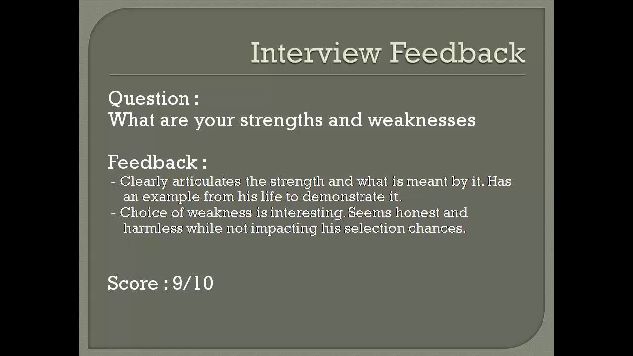 strengths and weaknesses fresher interview strengths and weaknesses fresher interview