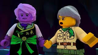 Ninjago jay turns into a snake