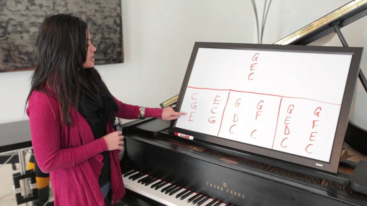 Tricks with chords on the piano piano lessons youtube hexwebz Images