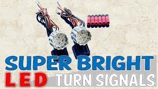 Gambar cover Billet 22LR LED Front Run/Turn & Rear Run-Brake-Turn Lights