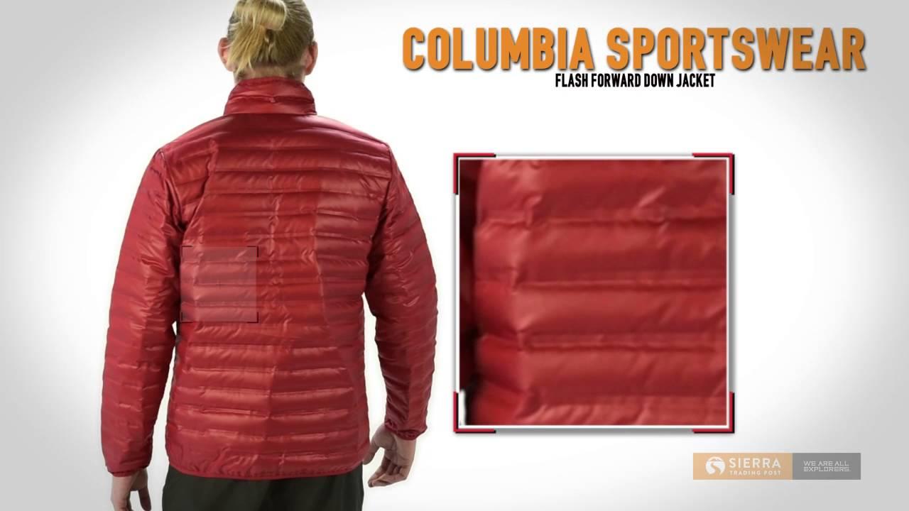 cb5923bd1 Columbia Sportswear Flash Forward Down Jacket - 650 Fill Power (For Men) -  YouTube