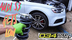 HOW TO INSTALL LOWERING SPRINGS ON A AUDI S3