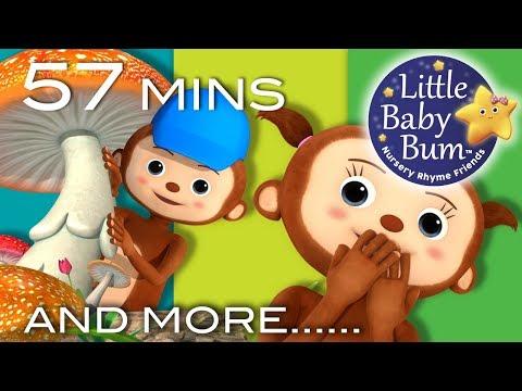 Peekaboo Song | Peeka Peeka | Plus Lots More Nursery Rhymes | 57 Mins Compilation by LittleBabyBum!