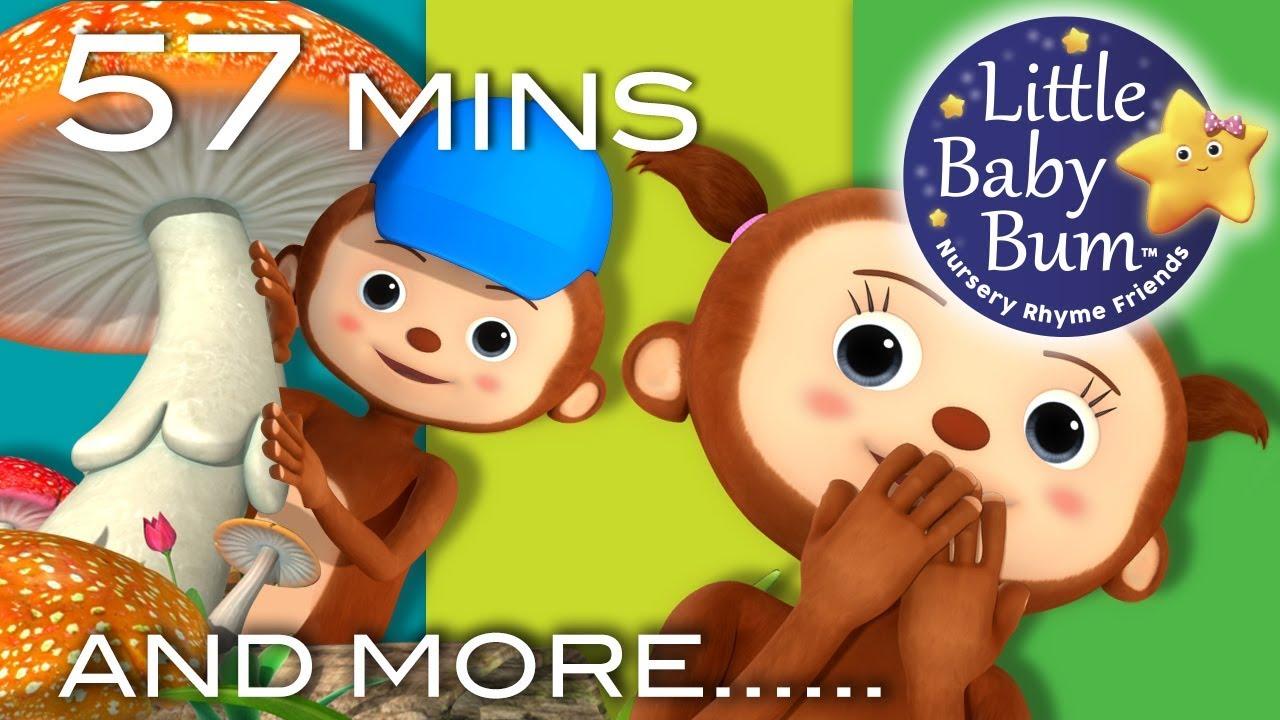 Learn With Little Baby Bum Peekaboo Song Nursery