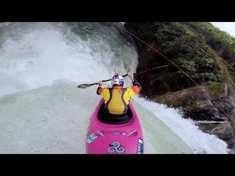 GoPro-Equipped Kayaker Plummets Down Huge Waterfall