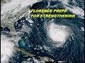 7PM UPDATE HURRICANE WATCH CAROLINAS MAJOR  HURRICANE FLORENCE CATEGORY 4 HURRICANE 9/11/2018