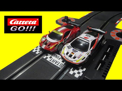 Carrera GO! Ferrari GT Slot Toy Cars Racing Track