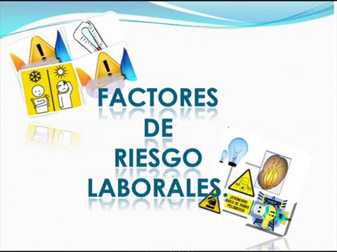Factores de Riesgos Laborales - YouTube