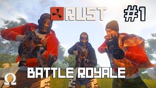 A NEW JOURNEY, THE ULTIMATE SCRUBS! | Rust (Battle Royale) #1