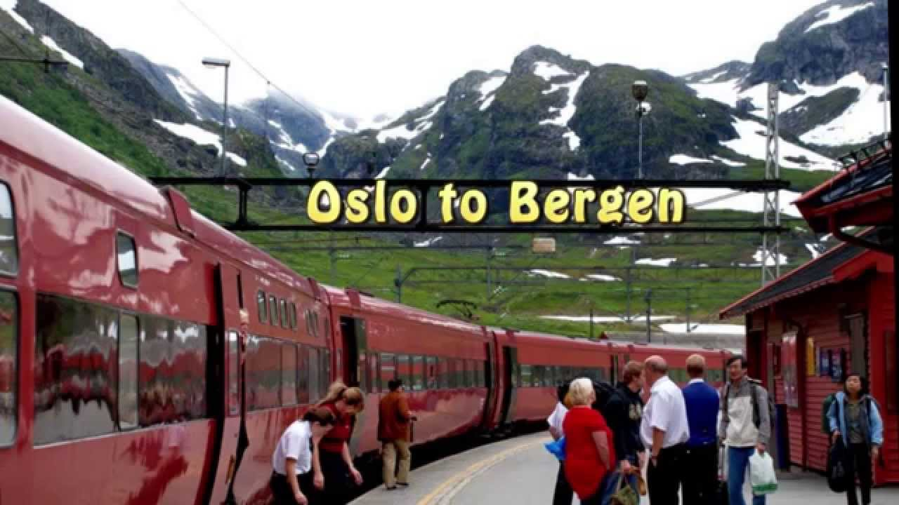 Norway Train Norway Oslo To Bergen Train Bergensbanen May 2013 Linda Collison Hd