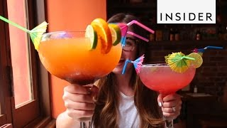 Giant Margaritas Made With an Entire Bottle of Tequila