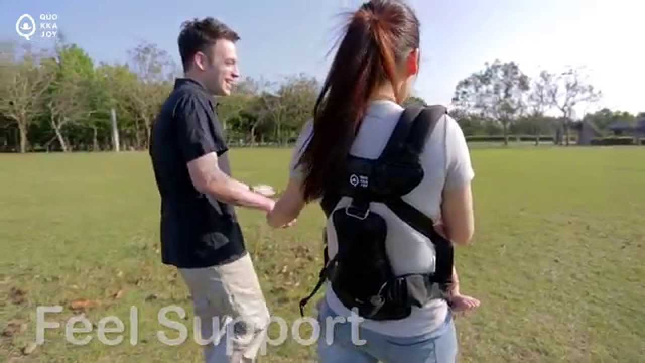 eaafbd52b1f1 QuokkaJoy - QuoPro Baby Carrier Limited Edition - YouTube