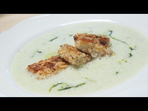 Bärlauch Suppe Rezept für Bärlauchcremesuppe und Schaumsuppe