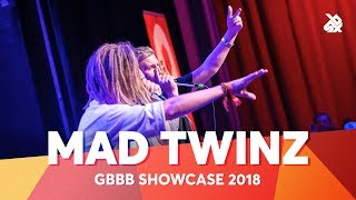 Video MAD TWINZ | Tag Team Vize World Beatbox Champion 2018 download MP3, 3GP, MP4, WEBM, AVI, FLV Agustus 2018