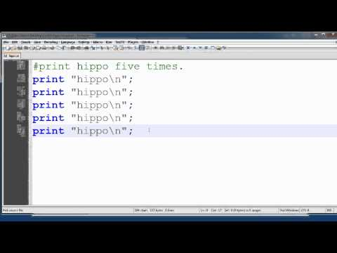 BYUH CIS101 Using Perl to Create a Basic Web Page