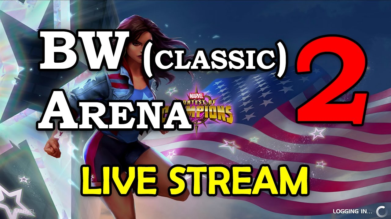 Download Black Widow (classic) Arena - Part 2 | Marvel Contest of Champions