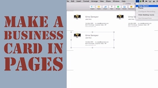 How to create a logo on a mac pages  Mac - Apple 2019 09 02