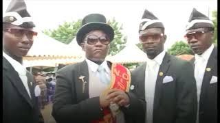 Black men coffin music