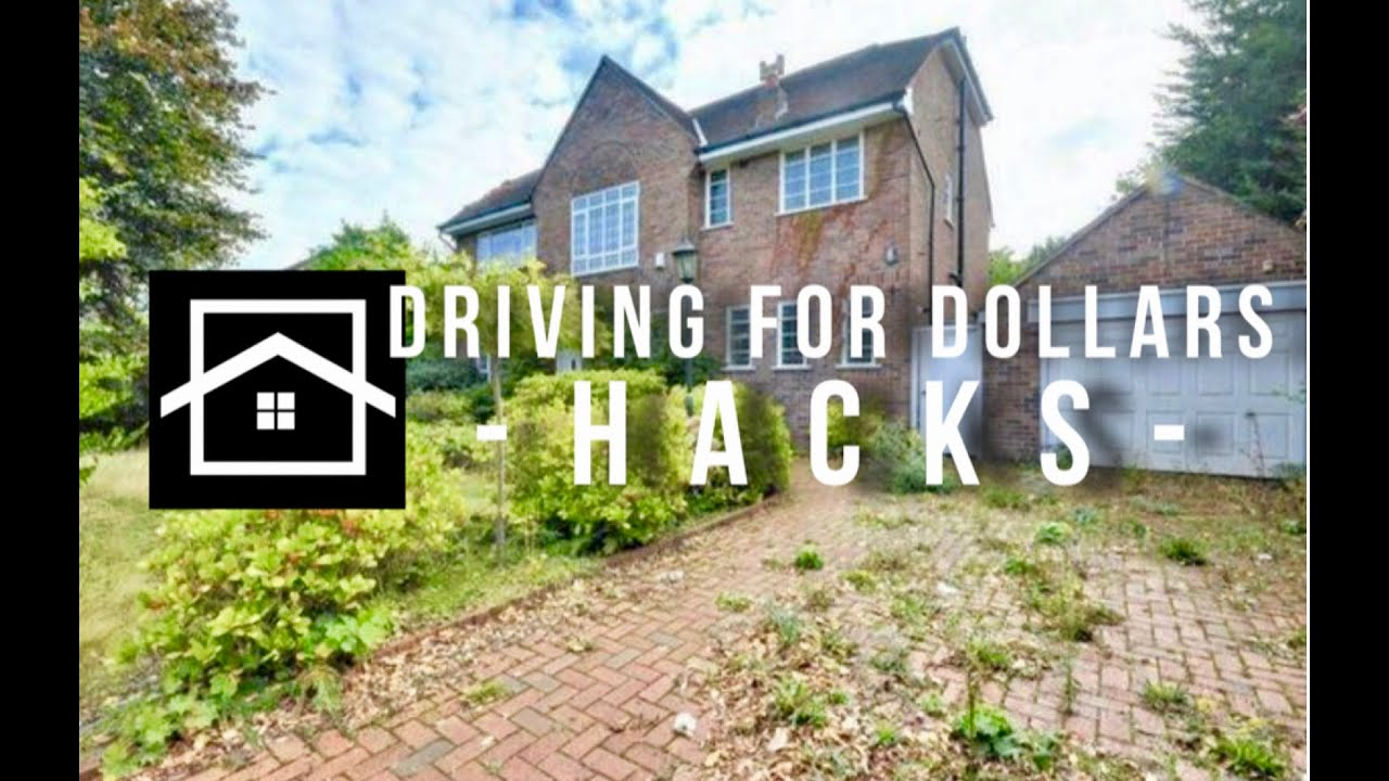 Driving For Dollars Hacks | Wholesaling Houses