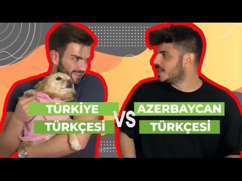 Azerbaycan Türkçesi ve Türkiye Türkçesi Arasındaki Farklar 🇦🇿 vs 🇹🇷