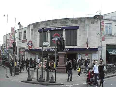 Tooting Broadway Junction London UK