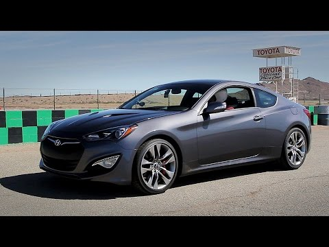 Hyundai Genesis Coupe 3.8 Fast Blast MPG Track Review Everyday Driver
