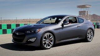 Hyundai Genesis Coupe 3.8 - Fast Blast MPG Track Review - Everyday Driver