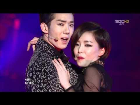 Jokwon Gain - Trouble Maker @ 111231 MBC Gayo Daejun