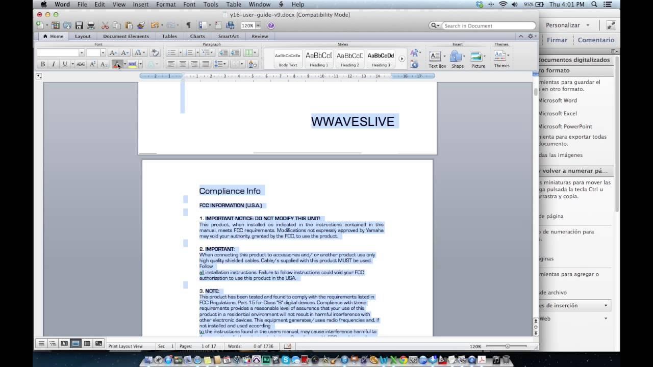 convertir word en pdf free