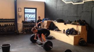 "Snatch: 85 x 2 reps by Philip ""The Gift"" Thun Bisgaard"