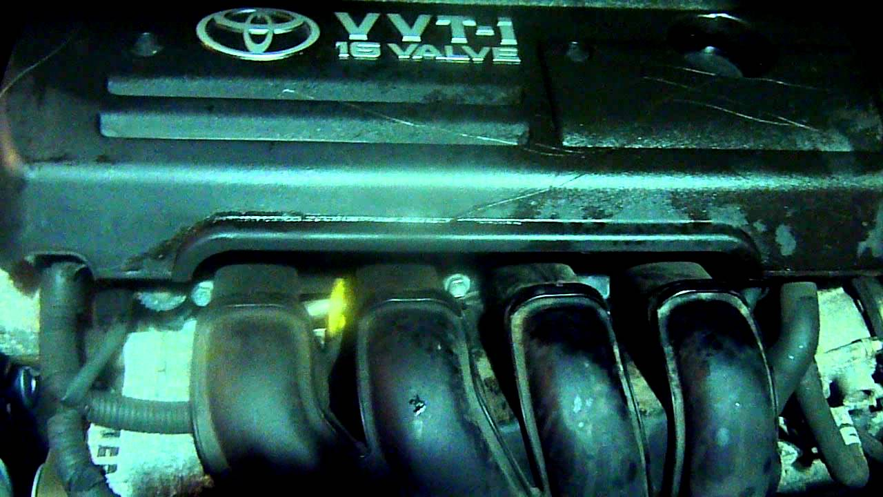 2006 TOYOTA COROLLA VERSO 18 VVTi ENGINE  1ZZFE  YouTube