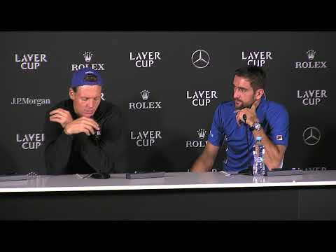 Berdych and Cilic Press Conference (Match 9) | Laver Cup 2017