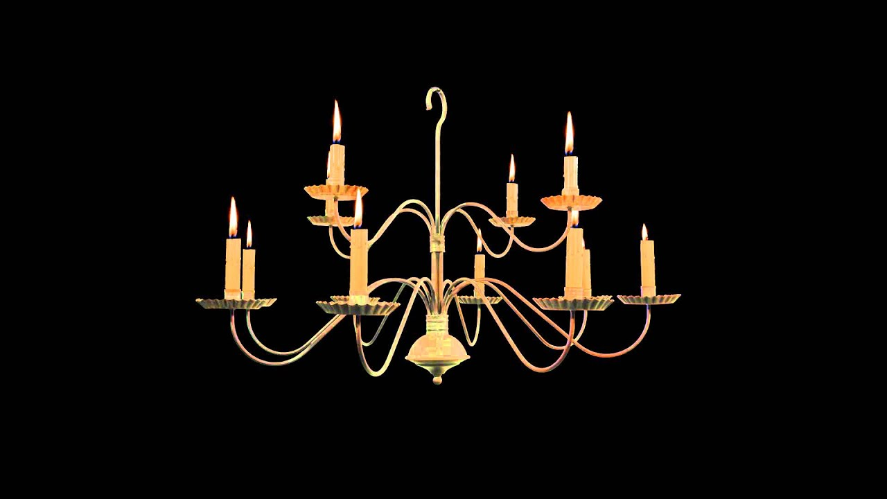 Chandelier with burning candles free royalty footage youtube chandelier with burning candles free royalty footage mozeypictures Choice Image