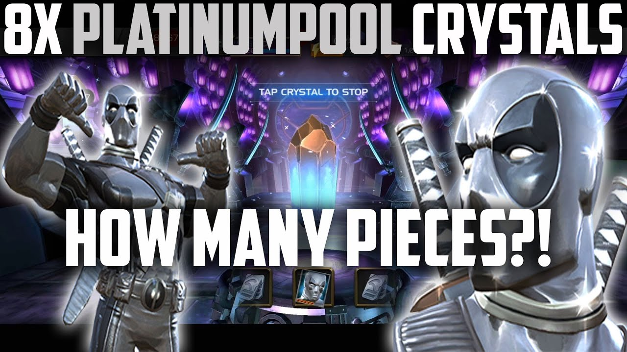 Platinumpool Incursion Bundle Opening - Can we fully assemble him?! - Marvel Contest of Champions