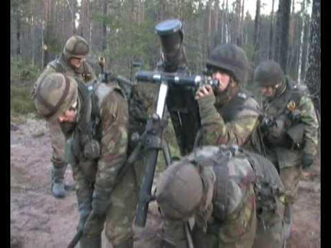 Finnish armys mortars