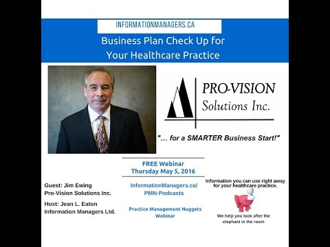 Business Plan Check Up for Your Healthcare Practice